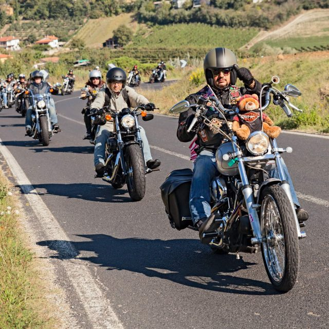 "Biker ""On the Road"""