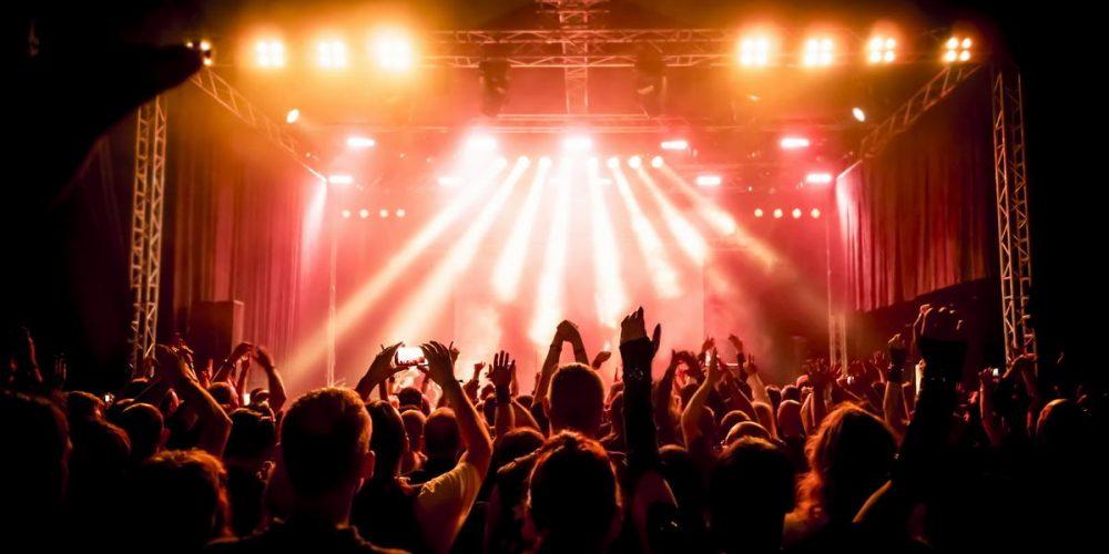 Bühne und Konzert
