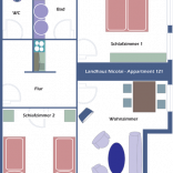 Grundriss – Appartement