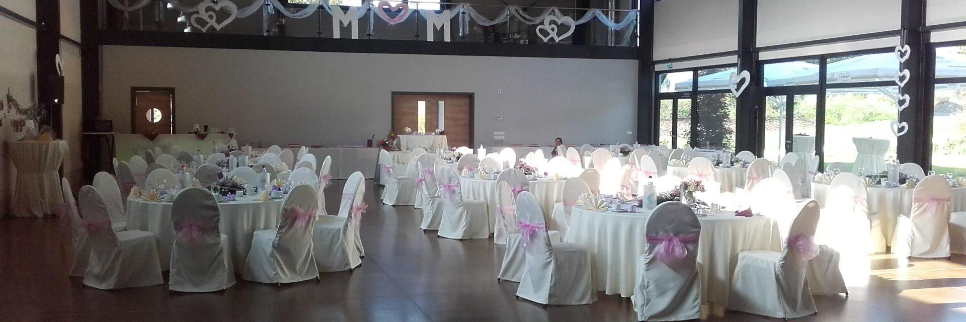 Bogen-Event-Halle als individuelle Hochzeitslocation
