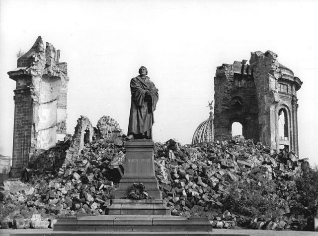 Frauenkirche 1958